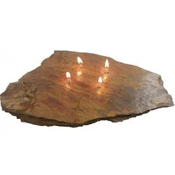 Fire Rock Four Wick Oil Candle