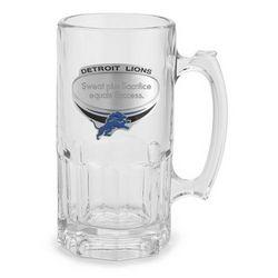 Detroit Lions Moby Beer Mug