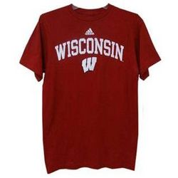 Classic Wisconsin Arch Short Sleeve T-Shirt