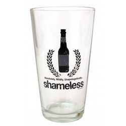 Shameless Pint Glass