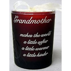 Vanilla Scented Candle for Grandmother