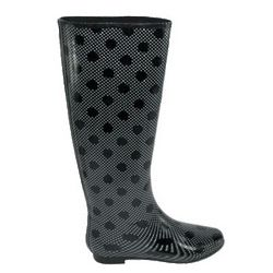 Henry Ferrera Colorado Dot Tall Rain Boots