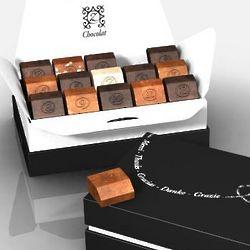 Tasty Thankfulness of 15 French Chocolates Gift Box