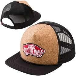 Vans Black and Cork Trucker Hat