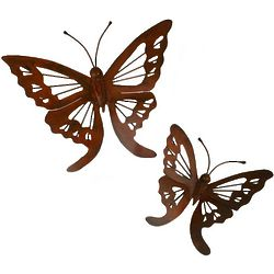 Butterfly Monarch Wall Sculptures