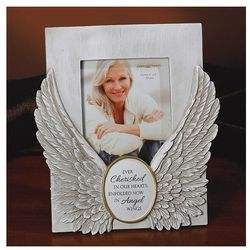 Enfolded Now in Angel Wings Photo Frame