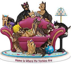Blake Jensen Yorkshire Terrier Dog Tribute Figurine