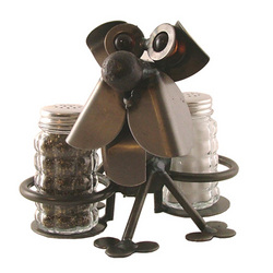 Chubby Nuts Dog Salt & Pepper Holder