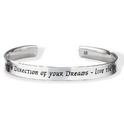 Sterling Silver Thoreau Cuff Bracelet