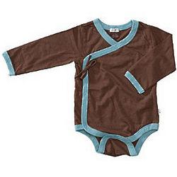 Kimono Style Longsleeve Baby Onepiece