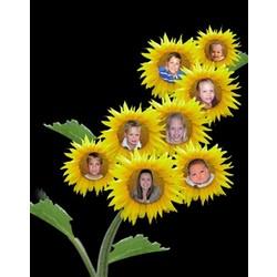 Sunflower Kids Custom Photos Print