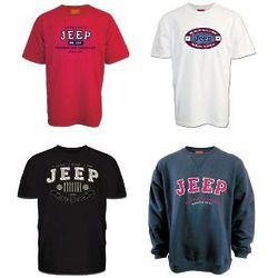 Jeep Shirt of the Month Club for 6 Months