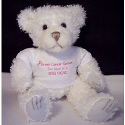 """I'm Kind of a Big Deal"" Breast Cancer Survivor Bear"