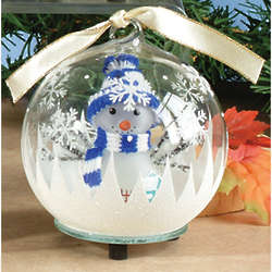 Light-Up Snowman Ornament
