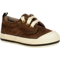 Children's Chocolate Suede Keds Graham