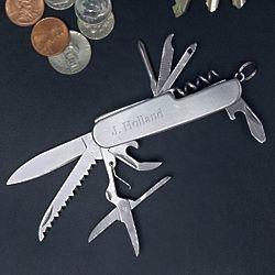 Adirondacks Personalized Stainless Steel Pocket Knife