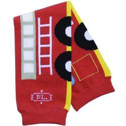 Fire Engine Leg Warmers