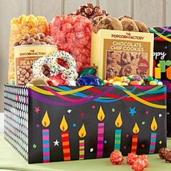 Birthday Glitz Snacks Sampler