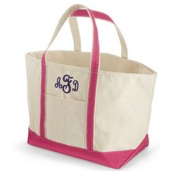 Pink Large Boat Tote