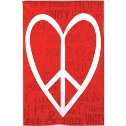 Love, Peace and Unity House Flag