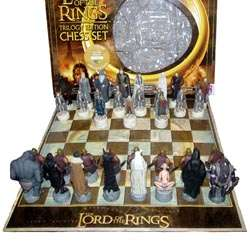 Limited edition lord of the rings trilogy chess set - Lord of the rings chess set for sale ...