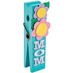 Mom Clothespin Note Holder Craft Kit