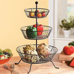 Tiered Fruit & Vegetable Basket