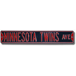 Minnesota Twins Authentic Street Sign