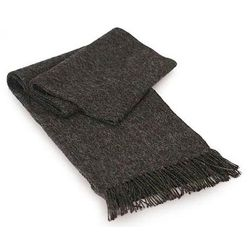 'Charcoal Gift of Warmth' Alpaca Wool Scarf