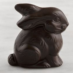 Placesetting Dark Chocolate Easter Bunny