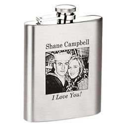 Customized Photo Flask