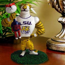 Lester the LSU Tiger Single Choke Rivalry Figurine