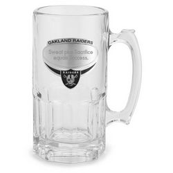 Oakland Raiders Moby Beer Mug