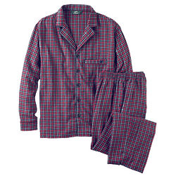 Men's Woven Flannel Pajamas