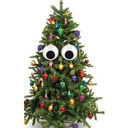 Christmas Tree Googly Eyes Ornaments