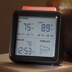 Wireless Weather Forecaster with Color-Changing Beacon