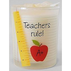 Teachers Rule Candle