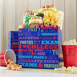 University of Snacks Snack Stash Gift Box