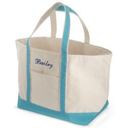 Blue Large Boat Tote