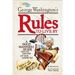George Washington's Rules to Live By Book