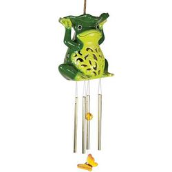 Frog Solar Wind Chimes