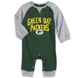 Newborn's Proud Green Bay Packers Fan Romper