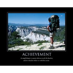 Achievement Personalized Print