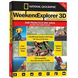 Weekend Explorer 3D San Francisco Bay, Big Sur & Napa Valley