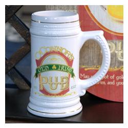 Personalized Irish Pub Beer Stein