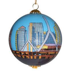 Zakim Bridge Ball Ornament