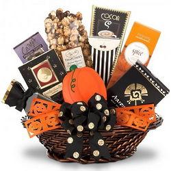 Halloween Goodie Gift Basket