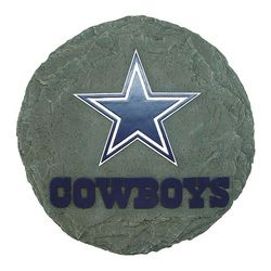 Hand-Painted Resin NFL Stepping Stone