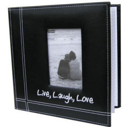 Personalized Live, Laugh, Love Photo Album