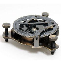 Medium Sundial Compass in Wood Box